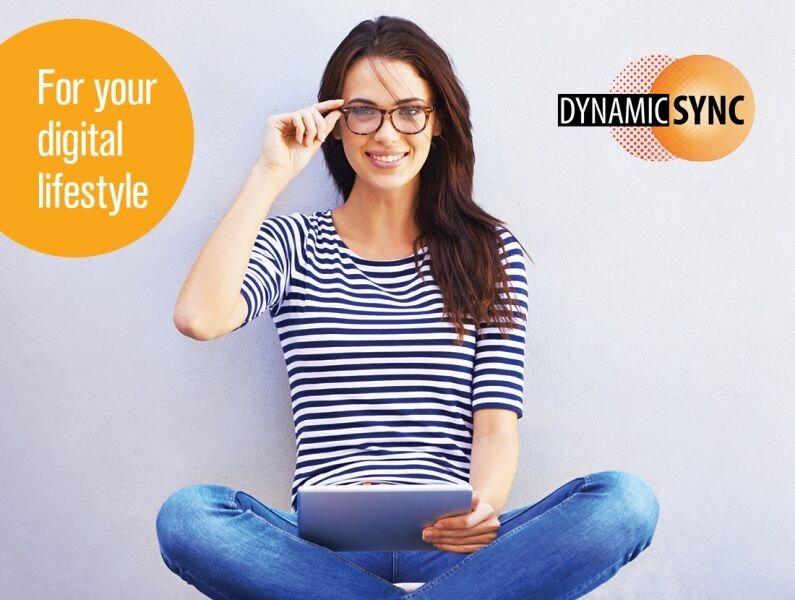 Relax with HOYA eyeglass lenses